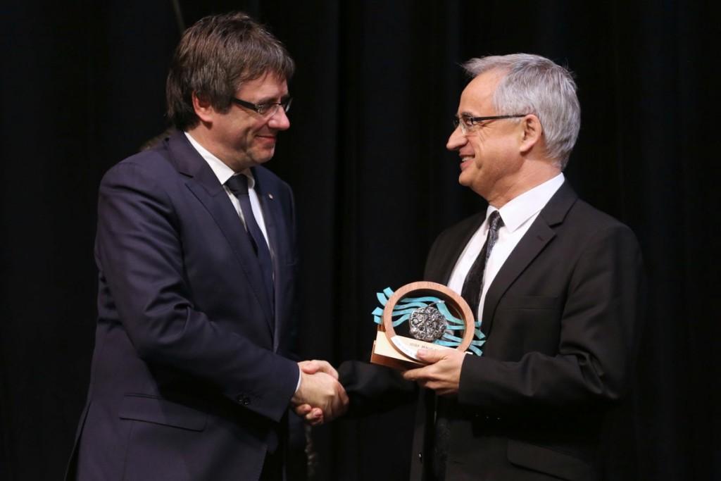 Premi Margalef_amb Puigdemont_Nov2016